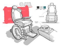 Ipad Design Sketch Wheelchair Sketch Industrial Design Ipad Pro Procreate