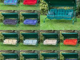 Collection 3 Seater Replacement Hammock Cushions Outdoor Patio
