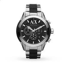 armani exchange men s chronograph watch mens watches watches armani exchange men s chronograph watch