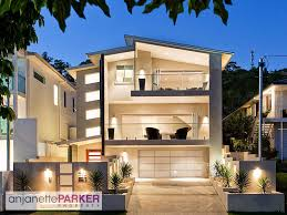 stupendous modern exterior lighting. Stupendous Modern House Exterior With Balcony Path Lighting Facade Home Remodeling Inspirations Cpvmarketingplatforminfo A