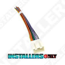 aftermarket car stereo radio wiring harness ford 1771 wire adapter image is loading aftermarket car stereo radio wiring harness ford 1771