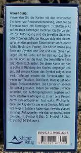 La parola italiana libro deriva dal latino liber.il vocabolo originariamente significava anche corteccia, ma visto che era un materiale usato per scrivere testi (in libro scribuntur litterae, plauto), in seguito per estensione la parola ha assunto il significato di opera letteraria. Heilen Mit Kosmischen Symbolen 100 Symbolkarten Zur Resonanzbehandlung Karten Eur 95 00 Picclick At