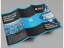Brochure Tri Fold Design Creative Corporate Tri Fold Brochure Vol 16