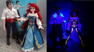 Small Picture Disney Designer Fairytale Ariel Eric Dolls Review Day Night