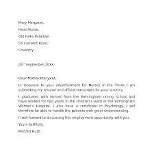 Employment Cover Letter Samples Free Alid Info