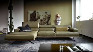 Couch Leder Holz