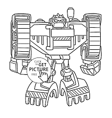 Small Picture bot coloring pages for kids printable free Rescue bots