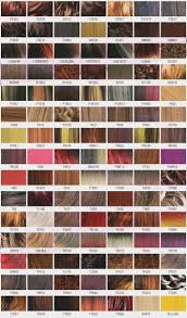 The Clairol Professional Hair Color Chart Is So Familiar But