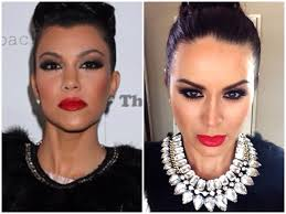 kourtney kardashian makeup look makeupbygio