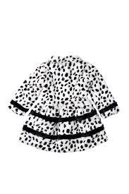 widgeon inset stripe dalmatian print coat toddler girls nordstrom rack