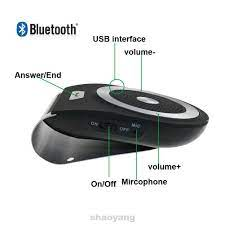 Loa Bluetooth Không Dây Hỗ Trợ Nghe Nhạc 4 Ngôn Ngữ Cho Xe Ô Tô chính hãng  215,000đ