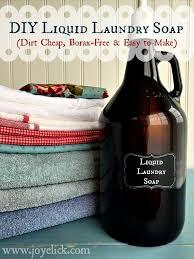 diy borax free liquid laundry soap dirt easy to make
