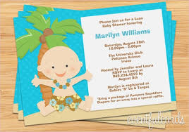 Baby Shower Invitation Backgrounds Free Classy Luau Baby Shower Invitations Luau Ba Shower Invitation Printable Of
