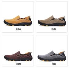 Men <b>Casual Shoes</b> Moccasins Men Loafers <b>Slip</b> On Flats Genuine ...