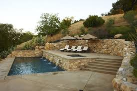 Craigslist El Paso Furniture with Mediterranean Pool Water Feature