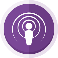 Apple podcast, apple podcast logo, audio, podcast, podcast logo icon