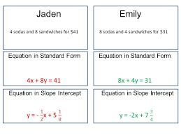 jaden emily 4x 8y 41 8x 4y 31 y 1