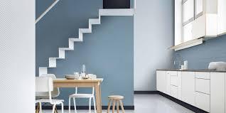 hallway colours 2017. dulux colour of the year denim drift family tonal palette blue hues hallway colours 2017 f