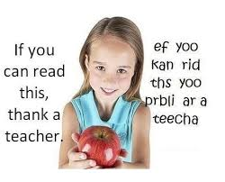 Funny image to thank a teacher
