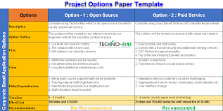 7 Simple Steps To Write Options Paper Template Project