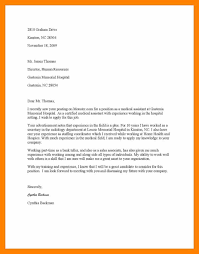 8 Cover Letter Sample For Medical Assistant Job Hostess Resume