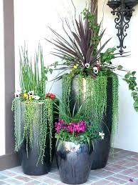 large outdoor vase plants 3 pot for garden patio pots best suitable