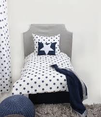 home toddler bedding boys toddler bedding bacati star navy ikat muslin 4pc toddler bedding set