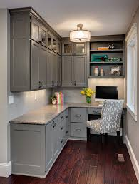 gray home office. Best Home Office Design Idea Gray