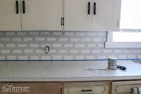 kitchen backsplash subway tile. Diy Cheap Subway Tile Backsplash, Diy, How To, Kitchen Design Backsplash B