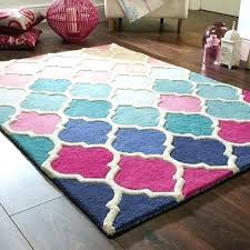 shaped rugs irregular elegant illusion in pink and blue from the rug of modern luxury