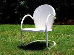 Antique Retro Metal Lawn Chairs Thedigitalhandshake Furniture