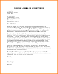 Teaching Covering Letter Gallery Cover Letter Ideas