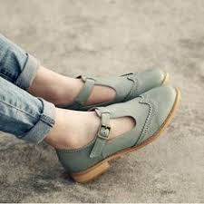 <b>Women</b> Artificial Leather Chunky Heel Adjustable <b>Buckle</b> Sandals ...