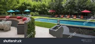 Landscape Design San Antonio Texas Sanantonio Texasusajuly 2018 Beautiful Pool Landscape Stock