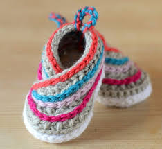 Crochet Baby Shoes Pattern Beauteous Crochet Kimono Baby Shoes Video Tutorial