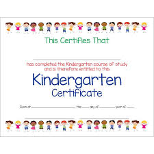 certificates of completion for kids kindergarten certificates of completion military bralicious co