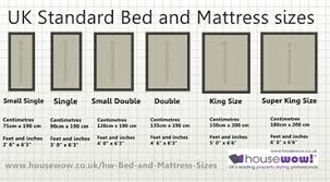 mattress sizes double. Click For A Larger Image Of UK Bed And Mattress Sizes Double Z