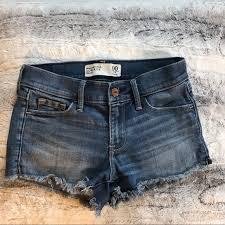 Abercrombie Jean Shorts Size 24 00