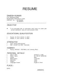 Resume Types Examples Examples Of Resumes