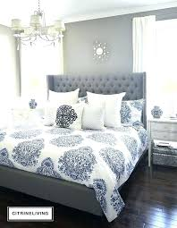 Grey Bedroom Decorating Ideas Gray Bedroom Blue And Gray Bedroom Ideas  Pictures Remodel And Decor Purple .