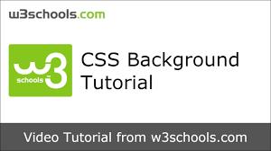 W3schools Design W3schools Css Background Tutorial