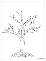 Small Picture Tree Trunk Coloring Pages
