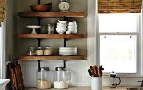 kitchen wall shelves