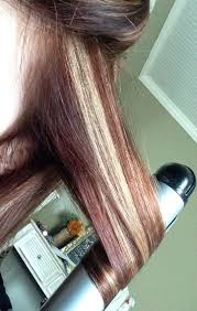 Auburn Hair With Blonde Highlights