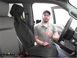 etrailer bucket seat cover installation