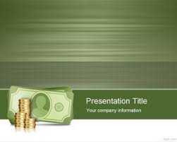 Money Background For Powerpoint World Bank Powerpoint Template