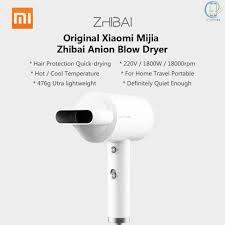 Giá bán Máy sấy tóc nhanh 1800W 2 tốc độ nhiệt chất lượng cao Xiaomi Mijia  Zhibai Anion HL3