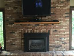 need help for this big brick fireplace wall
