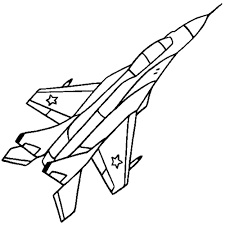 coloring pages of paper airplanes new cool free airplane and jet fighter aircraft coloring pages color in