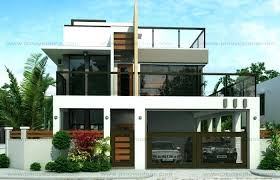 modern two story house plans images of two y modern houses with floor plans and small